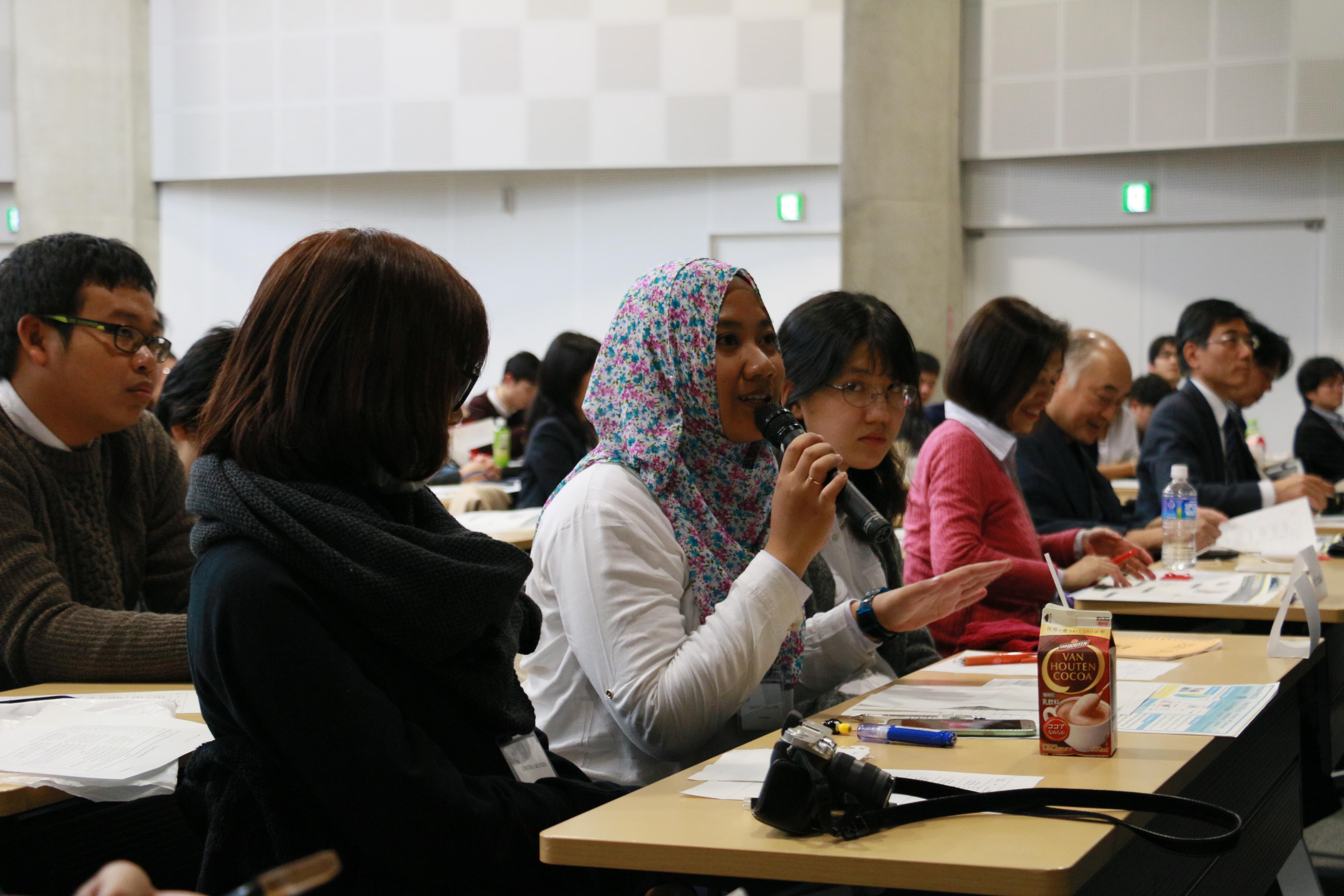 (2)グローバルPBL参加による体験学修(2017年2-3月実施)